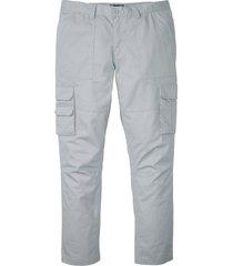 pantaloni cargo con teflon regular fit straight (grigio) - bpc selection