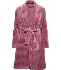 decoy short robe w/stripes morgonrock rosa decoy