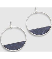 lane bryant women's front stone hoop earrings onesz night sky