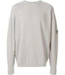 liam hodges classic long-sleeve sweatshirt - grey