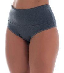 calcinha click mais bonita conforto segura barriga algodão penteado