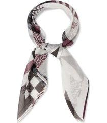 rebecca minkoff quilted-print bandana scarf
