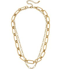 canvas jewelry everly layered chain necklace in gold at nordstrom