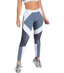 calça legging feminina surty interflow mescla cinza