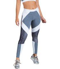 calça legging feminina surty interflow mescla cinza