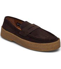 org.118 loafers låga skor brun the original playboy