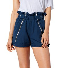 louie paperbag track shorts