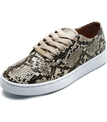tenis animal print  vizzano