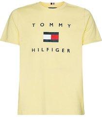 t-shirt tommy hilfiger geel big & tall