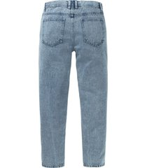 loose fit jeans van biologisch katoen, tapered