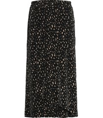 sc-olinda knälång kjol svart soyaconcept