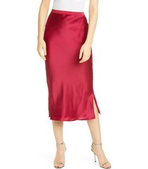 women's cami nyc the jessica silk slip skirt