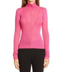 women's altuzarra seam detail turtleneck top