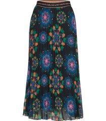 fal delos knälång kjol multi/mönstrad desigual