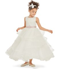 rare editions little girls tiered tulle gown