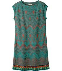 jacquard-gebreide jurk met pastelkleurige motieven, kleurrijk 44
