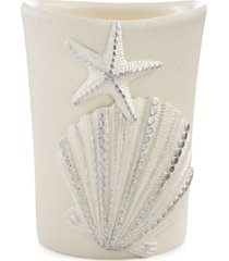 avanti bath, sequin shells tumbler bedding