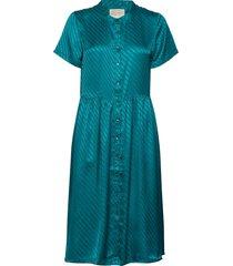 aliya dress knälång klänning grön lollys laundry