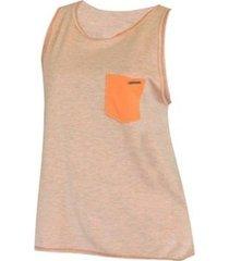 camiseta regata double billabong feminina