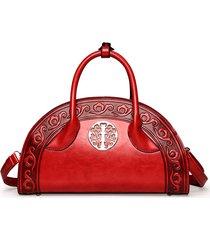 sacchetti trasversali della borsa della borsa della borsa della borsa della borsa di cuoio dell'unità di elaborazione nazionale di stile nazionale per le donne