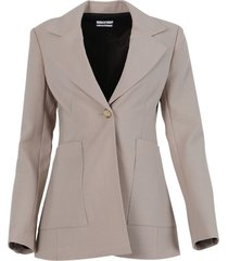 khaki blazer jacket