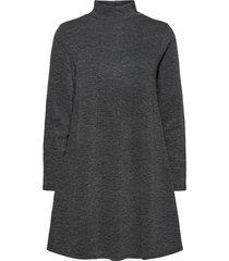 vimany l/s high neck dress/rx dresses everyday dresses grå vila