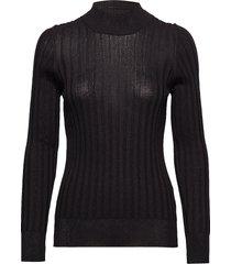 laura gebreide trui zwart dagmar
