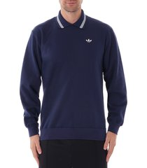 samstag polo sweatshirt - night indigo ec9314