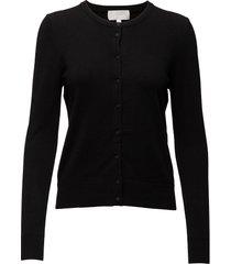 rita cardigan gebreide trui cardigan zwart inwear