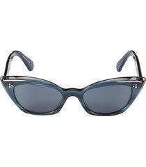 51mm bianka cat eye sunglasses
