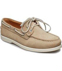 scott båtskor skor beige vagabond
