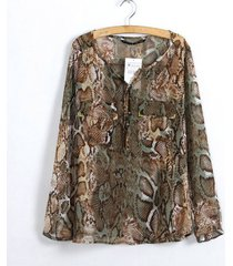 blusa grupo tabu 548-estampado animal print