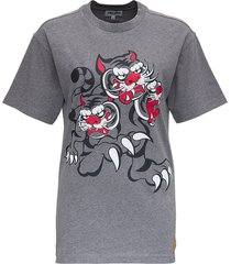 kenzo loose jersey t-shirt with print
