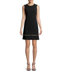 grommet sleeveless dress