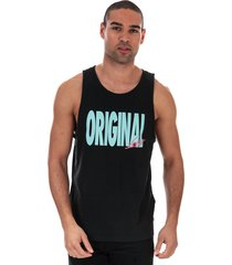 mens relaxed graphic vest