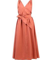 uitlopende jurk
