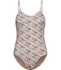 vanessa swimsuit baddräkt badkläder vit underprotection