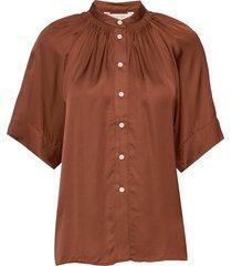 doriapw sh blouses short-sleeved bruin part two
