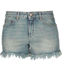 saint laurent denim shorts
