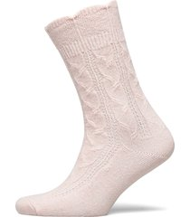 ladies anklesock, sophie cashmere sock lingerie socks regular socks rosa vogue