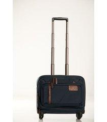 maleta ejecutiva lona por cuero 16 living