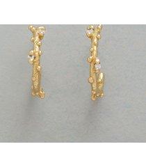 diamond dewdrop hoop earrings sundance handcrafted artisan jewelry