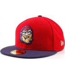new era williamsport crosscutters milb 59fifty cap