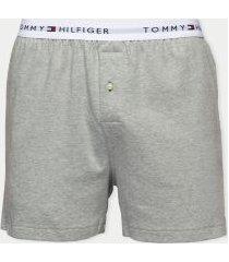 tommy hilfiger men's cotton classics boxer single pack grey - l