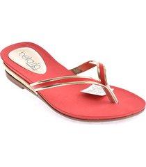 priceshoes sandalias dama 022b8397-102-15716rojo
