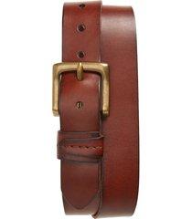 men's frye leather belt