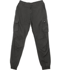 long ripstop cargo trousers