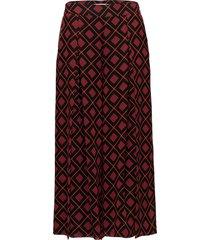 erica culottes ao18 wijde broek rood gestuz