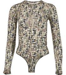 devore camo bodysuit, military green