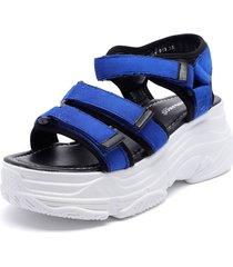 sandalia azul bonnyfranco